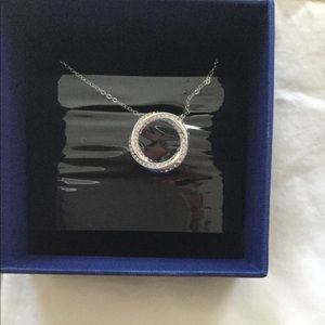 Swarovski Hilt circle necklace